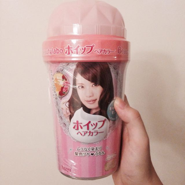 Beauty labo Hair dye ( candy Pink ) From Japan
