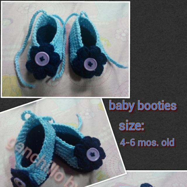 Crochet Baby Shoes Babies Kids On Carousell
