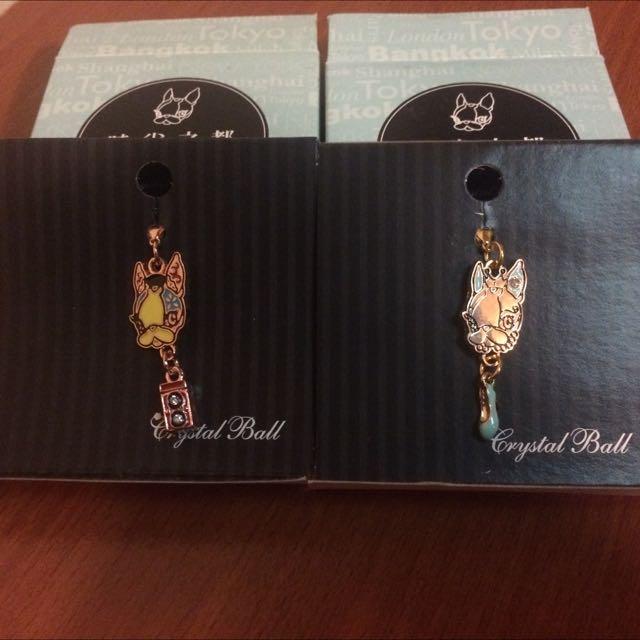 Crystal Ball時尚單品吊飾