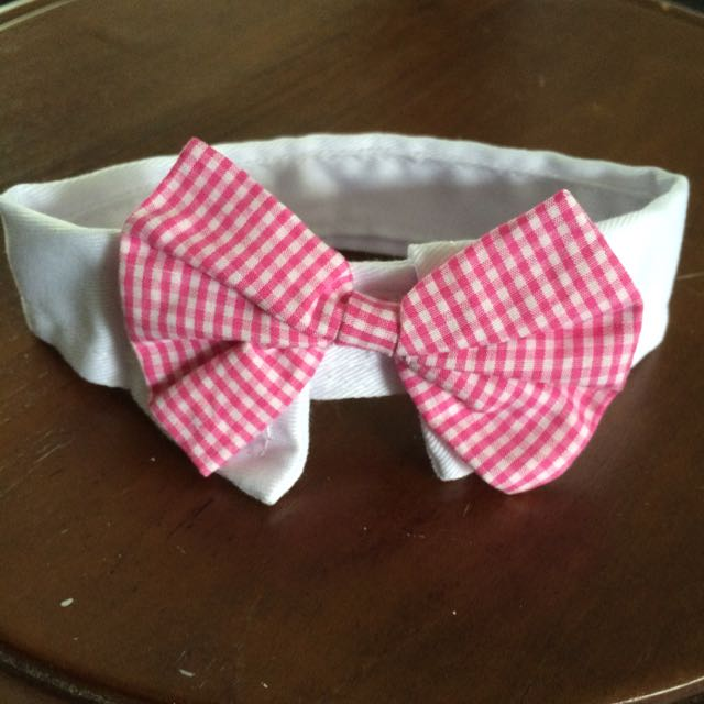 *On Sale* Pet Collar - Red Chequered