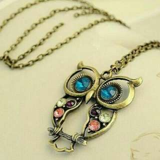 NEW Owl Necklaces For Sale (Elegant And Classy)