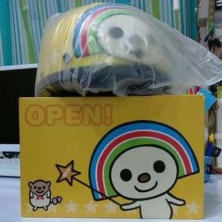 【絕版品出清】全新OPEN小將安全帽