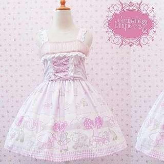 Pink Lolita Dress Teddy Bear Baby