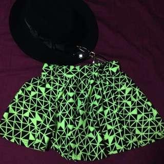幾何圖形 短裙