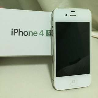 Price Reduced iPhone 4s 32gb White