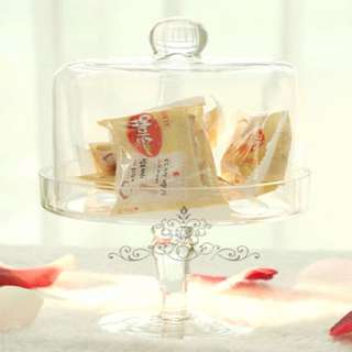 Brand New Cake Glass Canister