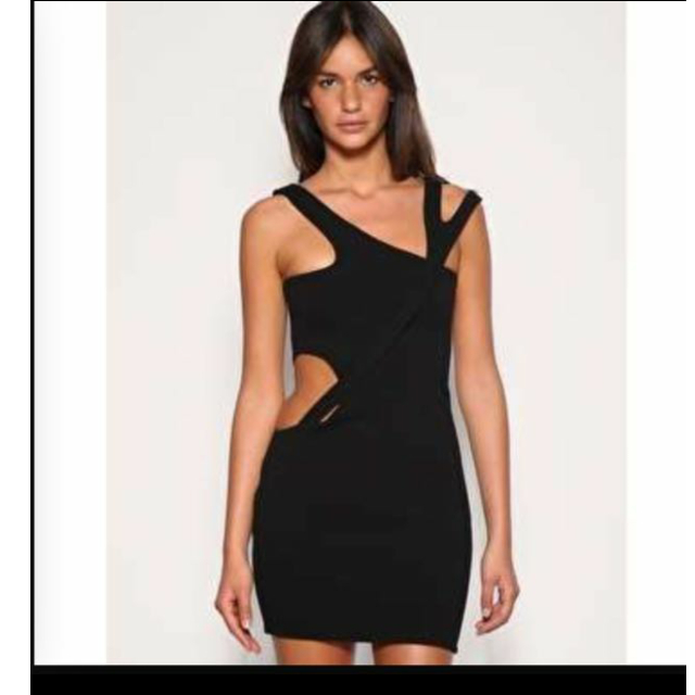 [BN]AQ/AQ Aqua Couture Whiplash Dress