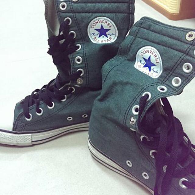 Converse All Star 12孔高統 絕版 UK5 24cm