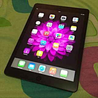 Preloved iPad Air 1 Wifi only 16GB Space Gray