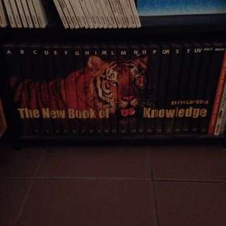 The New Book Of Knowledge Encyclopedia