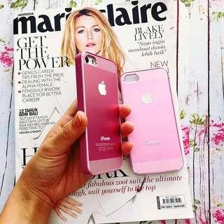 Softpink Alumunium Case iPhone 5/5s