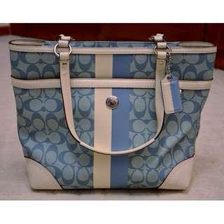Authentic COACH Handbag in Signature Canvas