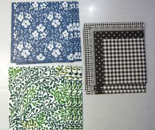 Paper Napkins For Craft Projects – Set #3