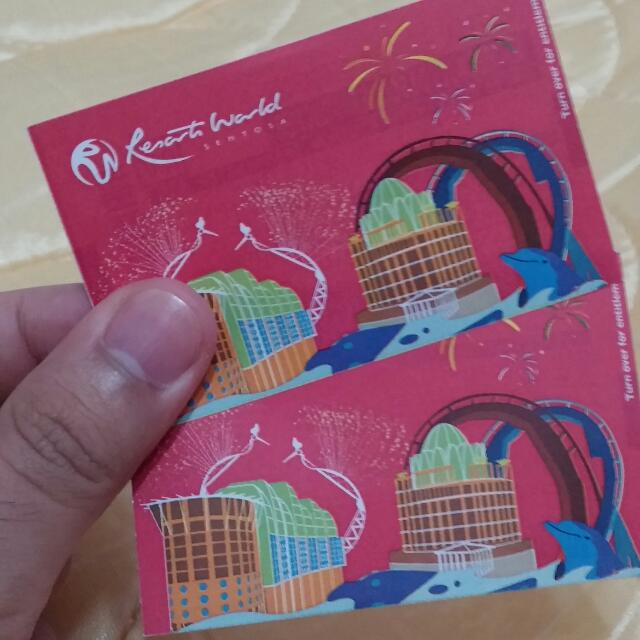 1x Physical Universal Studio Singapore (USS) Adult Ticket