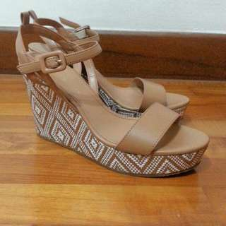 Charles & Keith - Ankle Strap Wedges