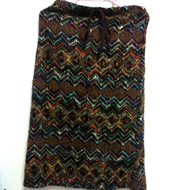 (降價)民族風古著針織長裙