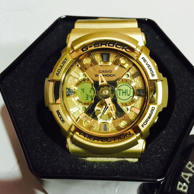 G Shock Gold Series