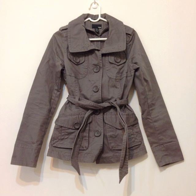 H&M 短風衣
