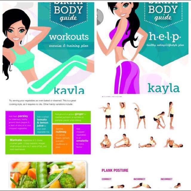Kayla itsines workout guides womens fashion on carousell photo photo photo fandeluxe Gallery