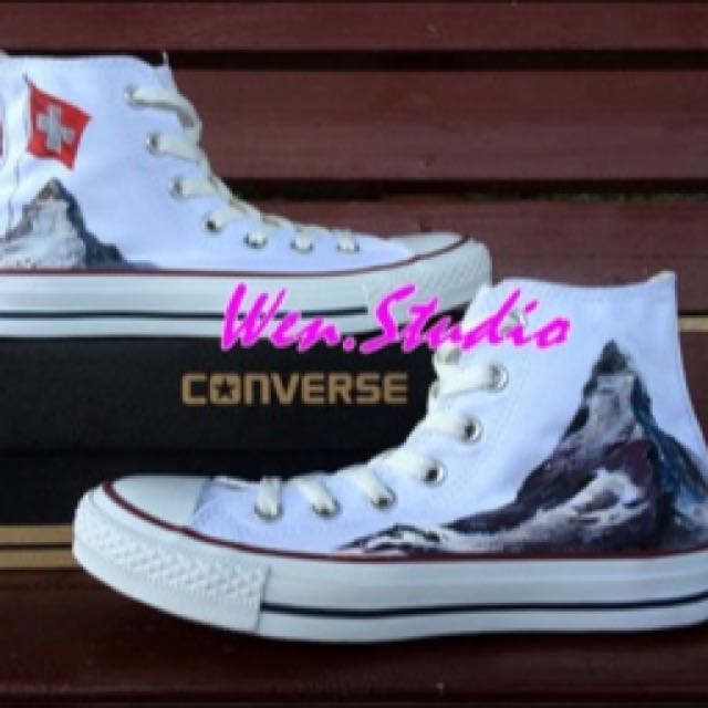 880213762b1e preorder  Custom Customised Personalized Converse Shoes Sneakers ...