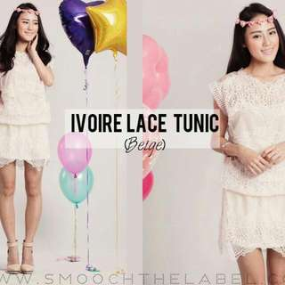 Smooth The Label Ivoire Lace Tunic