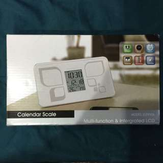 Calendar Scale (Multi-function & Integrated LCD)