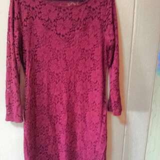 Brand New Lacey Dress Size L