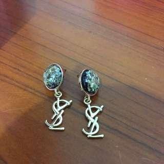 ysl 耳環