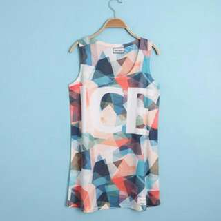 Sleeveless T Shirt High Quality Printing Designed and Made In Korea
