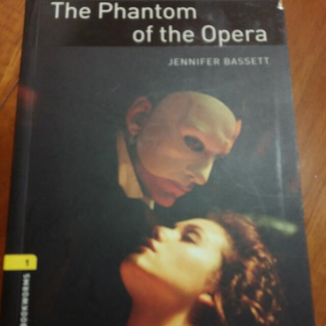 The Phantom of the Opera(歌劇魅影英文小說)