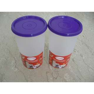 Toyogo plastic tumbler (new) - 2 for $10 only