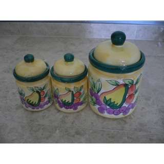 canister set (1 big n 2 medium size)
