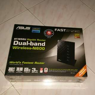 (Sealed New) Asus Router RT-N56U BNIN