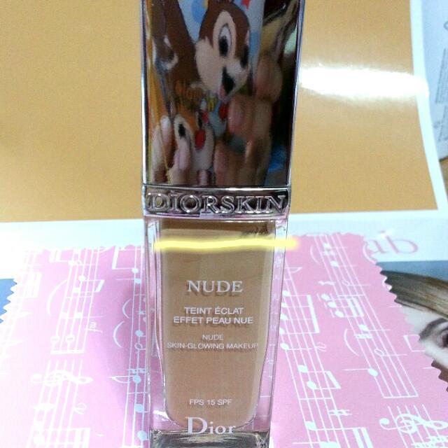 Dior 迪奧 輕透光裸膚粉底液 30ml #021