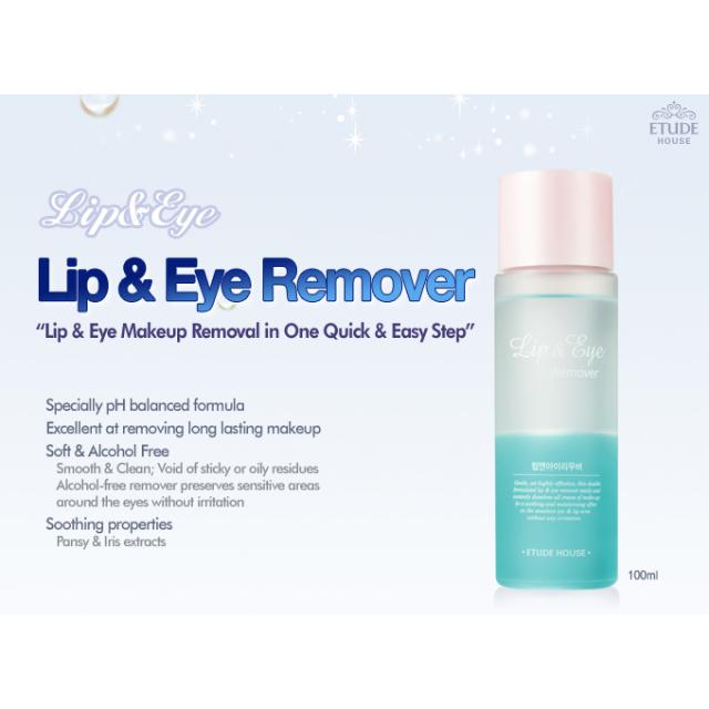 Etude House Lip And Eye Makeup Remover