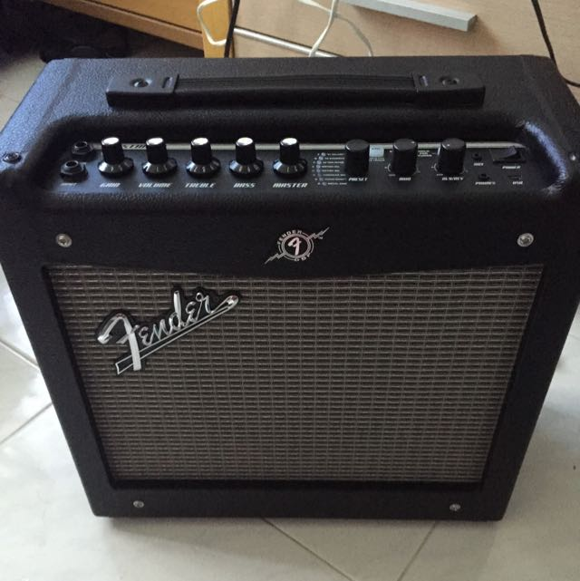Fender Mustang 1 V2 >> Fender Mustang 1 V2 Amp Music Media On Carousell