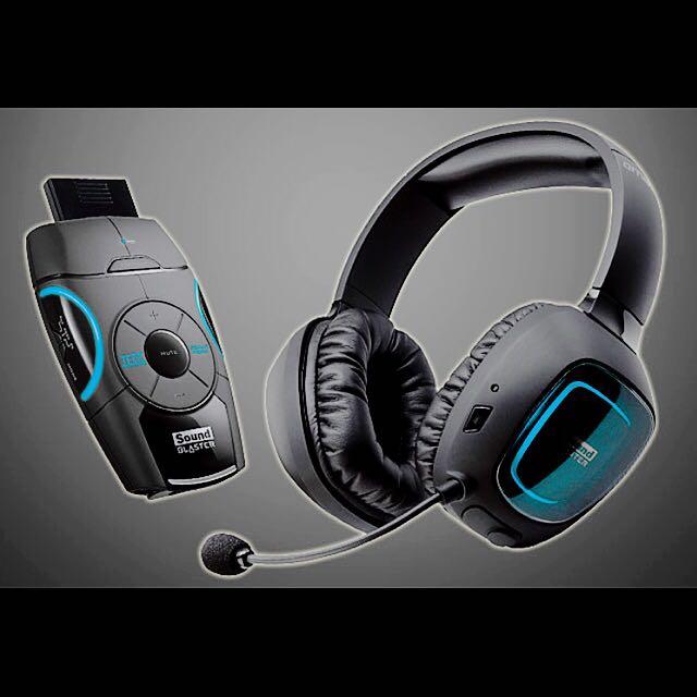SOUND BLASTER RECON3D OMEGA WIRELESS HEADPHONE