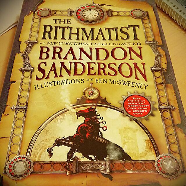 The Rithmatist; Brandon Sanderson; Hardcover.