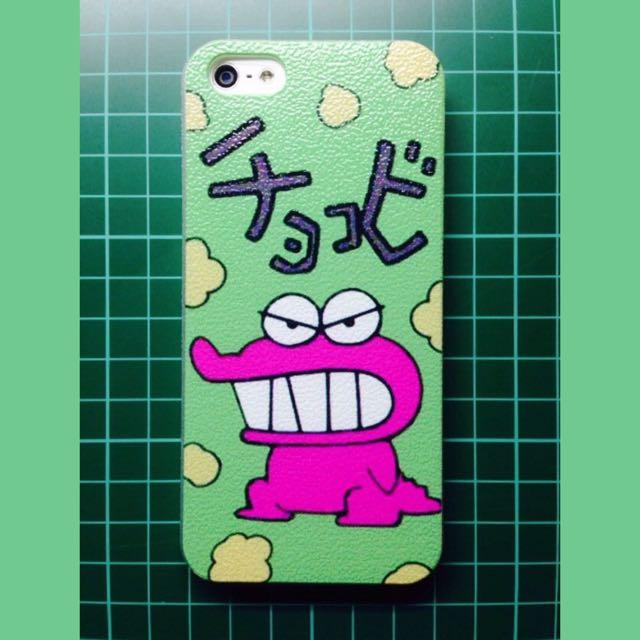 蠟筆小新X恐龍 IPhone5 5s 手機殼