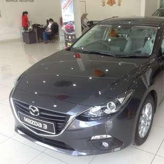 New 2015 Mazda3 SkyActiv CKD Sedan 2.0