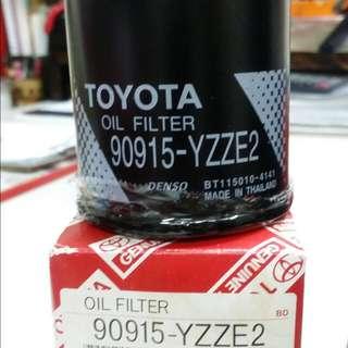 ACR50 TOYOTA ESTIMA OIL/AIR FILTER