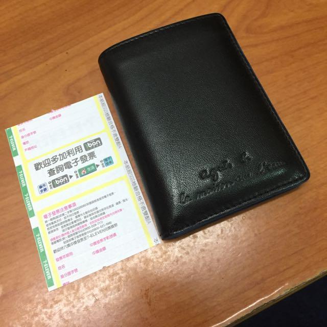 Agnes B 證件夾 名片夾 短夾 保正真品