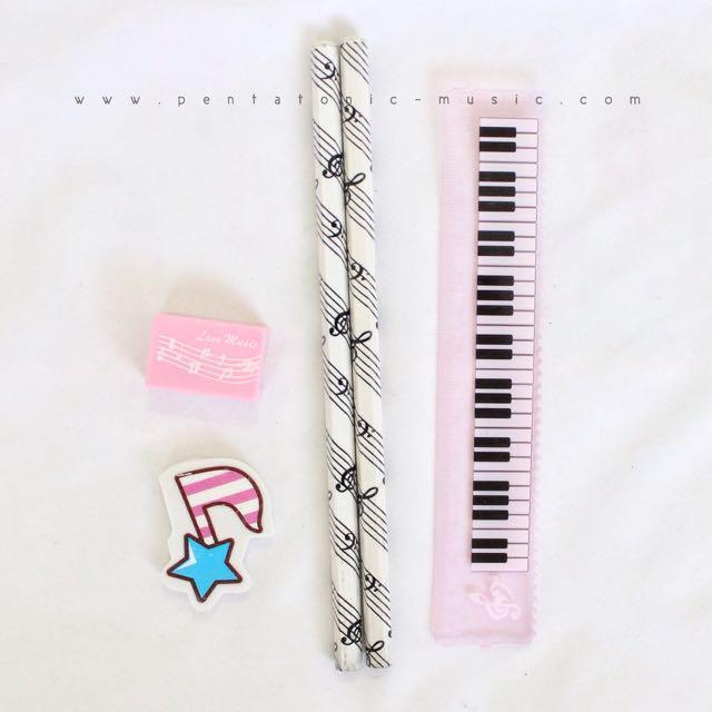 Mini Keyboard Stationery Set