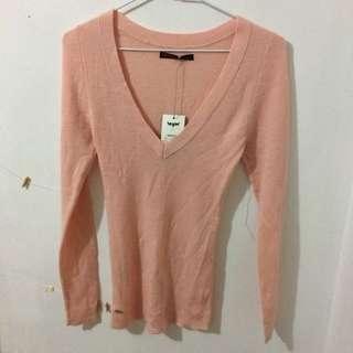 全新 Levi's 粉紅色 針織衫 毛衣