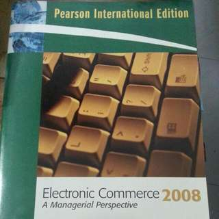Electronic Commerce.  Managerial Perspective