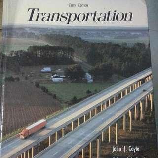 Book On Transportation Logistics