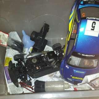 Kyoshi Motor Racing Car