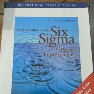 Introduction To Six Sigma And Process Improvement