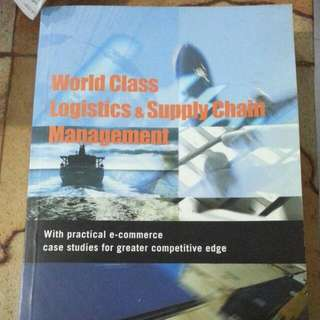 World Class Logistics And Supply Chain Management.#1212YES