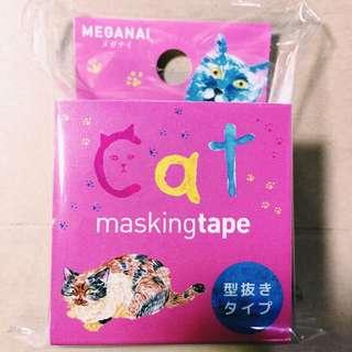 日本ROUND TOP貓咪紙膠帶🐈